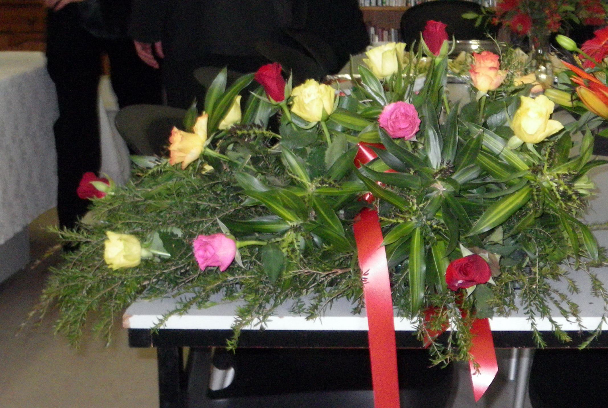 The Funeral Flowers Gabe Feathers Mcgee