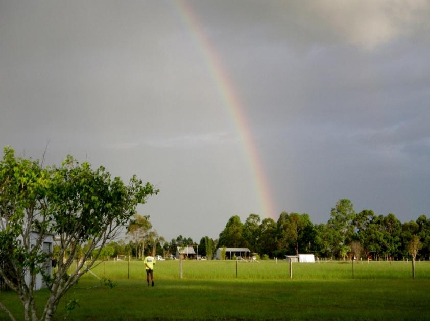 resized rainbow