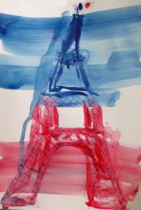 tour Eiffel par l'ateleir de créativité de douleur chronique