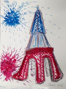tour Eiffel Claire